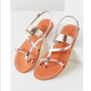 NWT! Urban Outfitters Leather Gladiator Sandals 8
